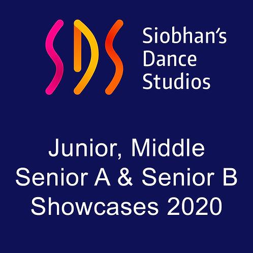Siobhan's Dance Studio Showcases 2020