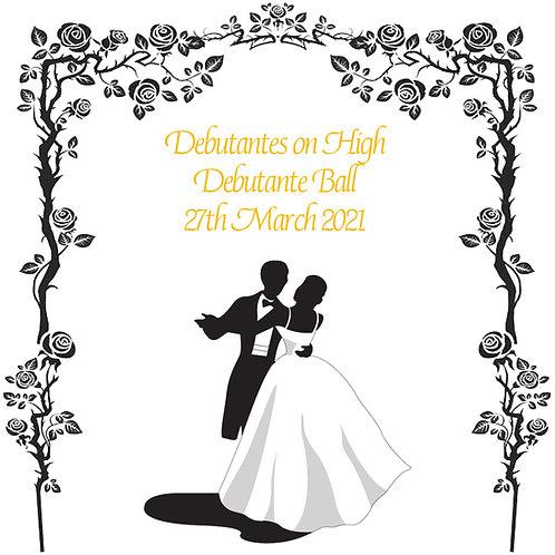 Debutantes on High Debutante Ball - 27 Mar 2021