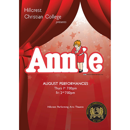 """Hillcrest Christian College Performance of """"Annie"""" 2019"""