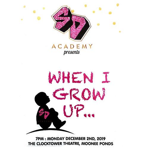 SD Academy 2019 Concert