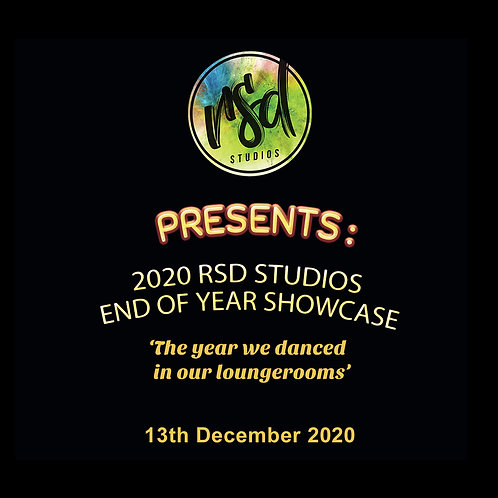 RSD Studios End of Year Showcase 2020