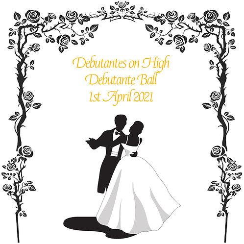 Debutantes on High Debutante Ball - 1st April 2021