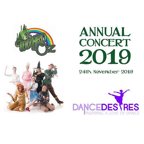 Dance Desires 2019 Concerts
