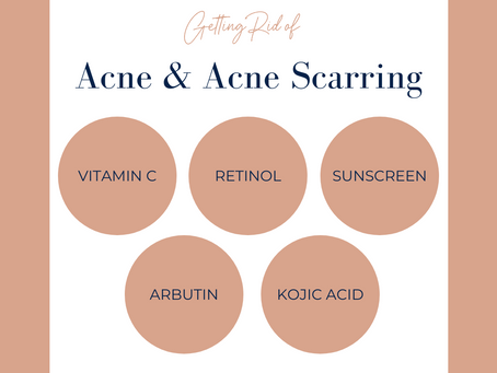 Getting Rid of Acne and Acne Scarring