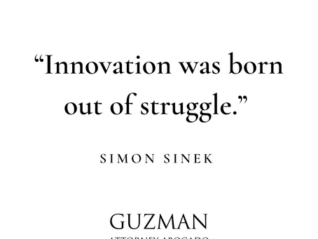 """""""Innovation was born out of struggle"""""""