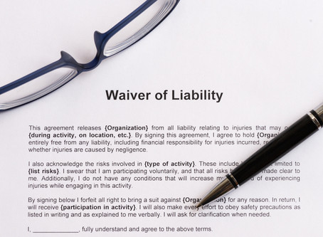 ARE COVID LIABILITY WAIVERS ENFORCEABLE?