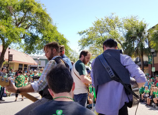 Festivities, Faulkner, and Fruity Pebbles - St. Patrick's Day 2018