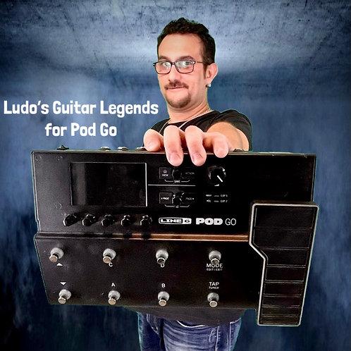 POD GO Ludo's Guitar Legends 56 Presets