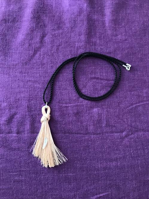糸芭蕉 繊維 サン ネックレス