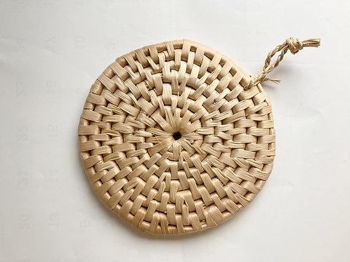 糸芭蕉×月桃 鍋敷
