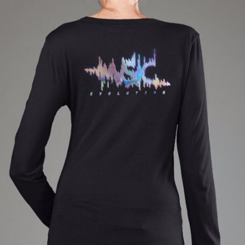 OMTVN Music Evolution Rainbow Foil Vinyl - Long Sleeve