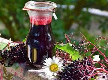 Elderberry Syrup, All Natural