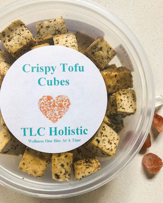 Crispy Tofu Cubes