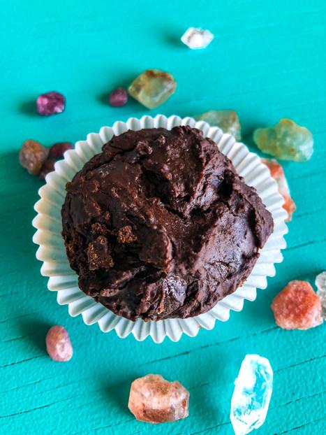 Black Bean Brownie Bites