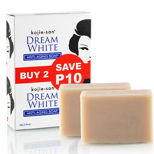 Kojie San Skin Lightening Soap Dream White Anti Aging Soap - 65 grams
