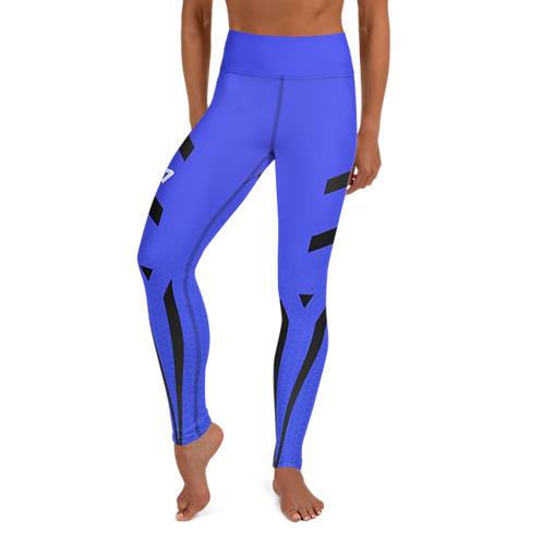 Firestorm Galaxy Genesis Yoga Leggings Unit 01 - Blue