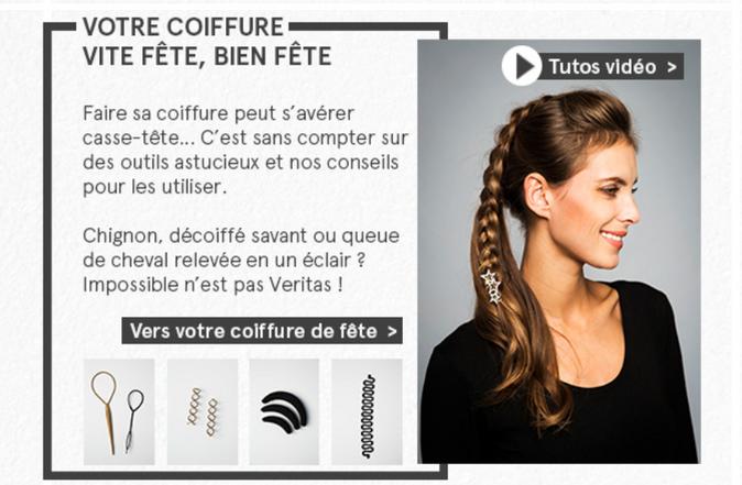 Newsletter accessoires de coiffure Veritas