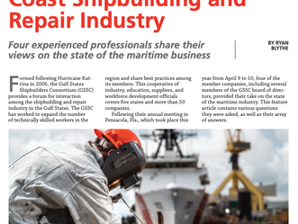 MAKING WAVES IN THE GULF COAST SHIPBUILDING AND REPAIR INDUSTRY