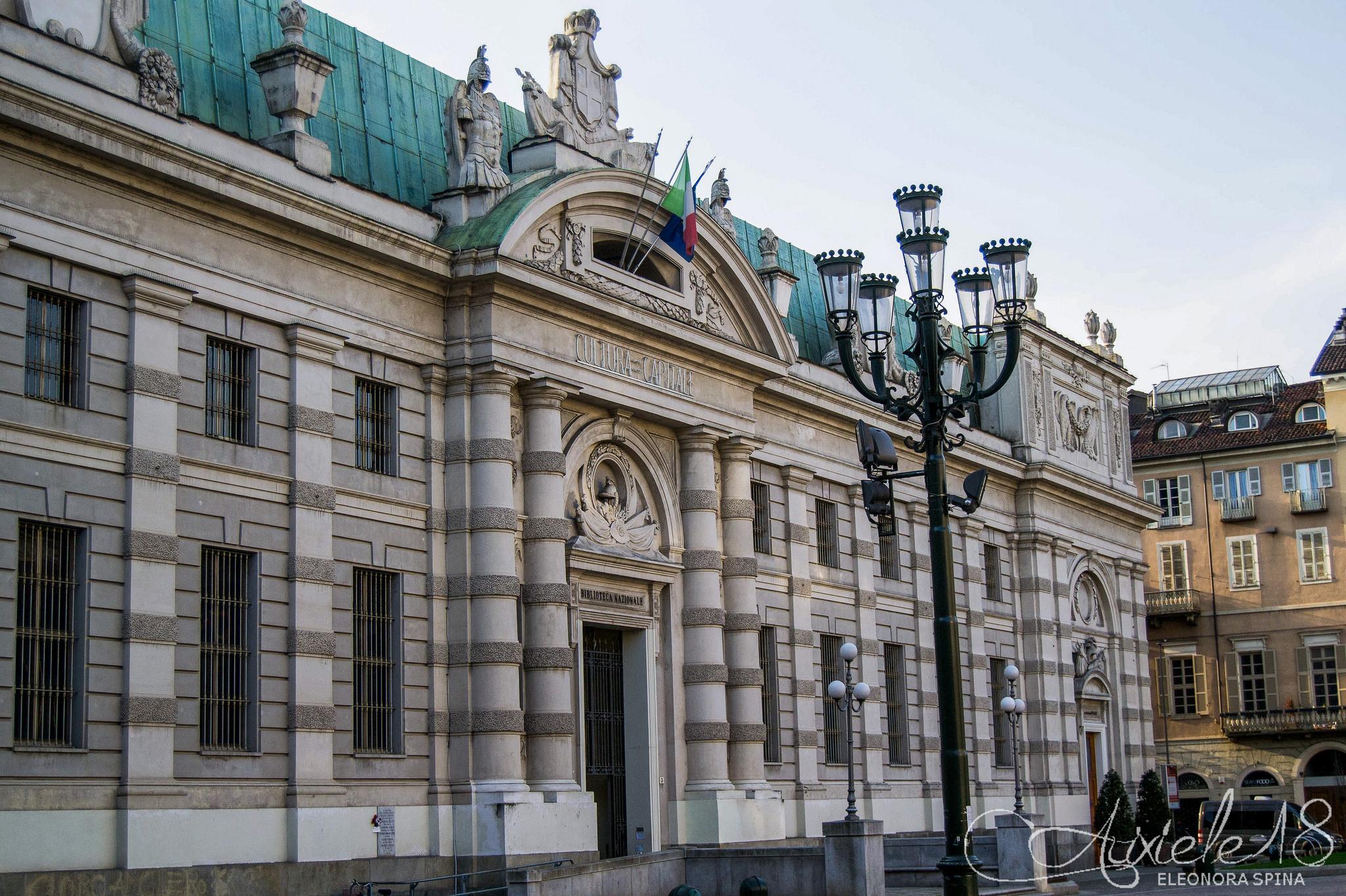 Biblioteca nazionale di Torino