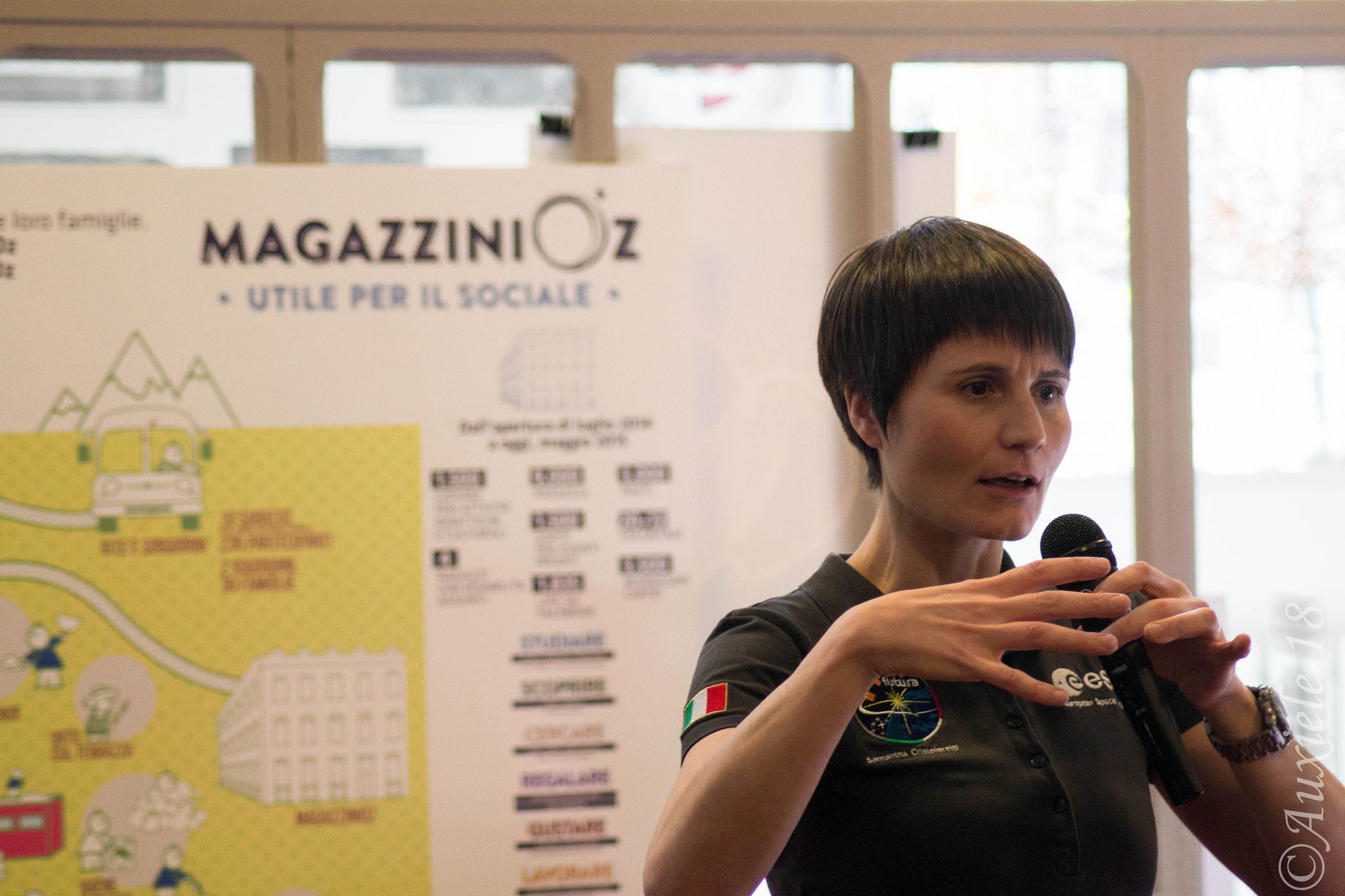 Samantha Cristoforetti_MagazziniOz