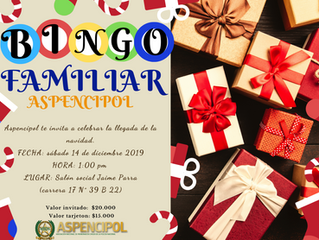 ¡Gran bingo familiar Aspencipol 2019