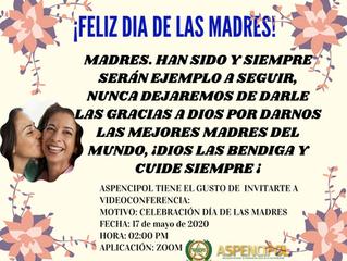 INVITACIÓN DÍA DE LAS MADRES 2020
