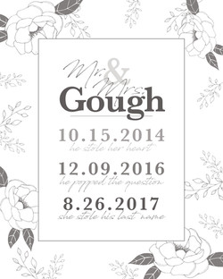 Mr. & Mrs. Gough
