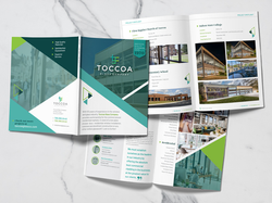 Toccoa Glass Company Booklet