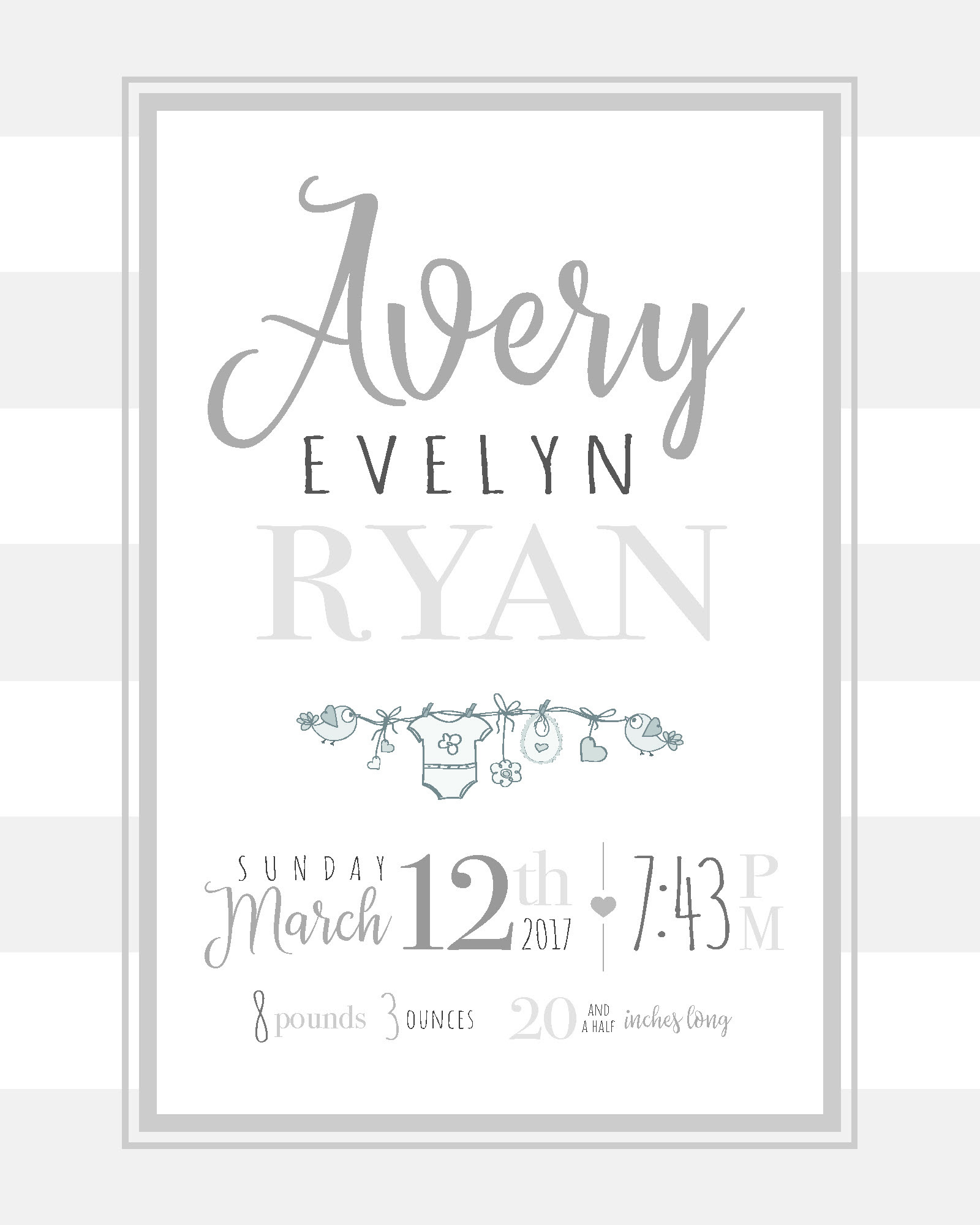 Avery Evelyn Ryan