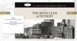 Detroit Bond Club Website Redesign
