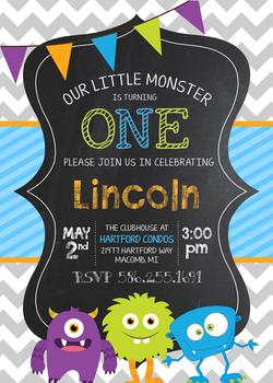 Lincoln's 1st Birthday