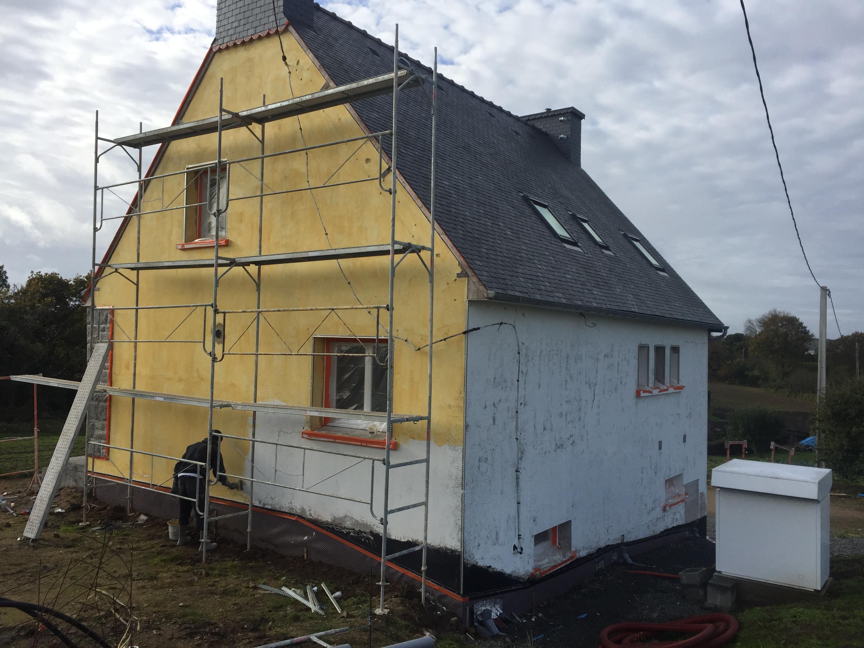 enduits de rénovation