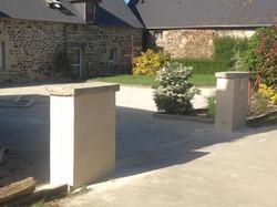 enduit aspect pierre Saint-Brieuc