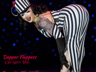 Turn Up the Heat & Dapper Flappers with Bettie Bombshell