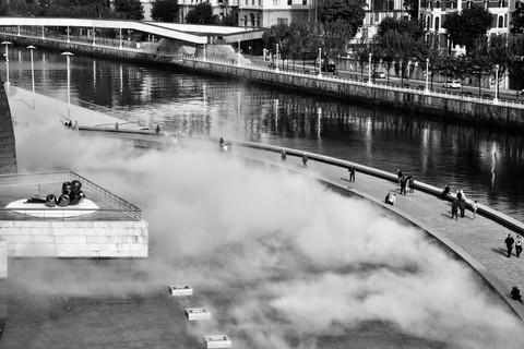 Bassin de brume