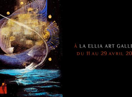 Vernissage Luminescence - Ellia Art Gallery - Place des Vosges -12 avril 2018