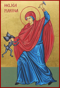 St. Marina (Margaret) the Great Martyr