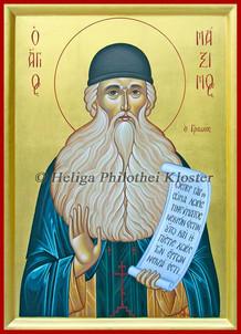 St. Maximos the Greek
