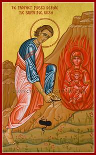 Holy Prophet Moses-3 (Burning Bush)