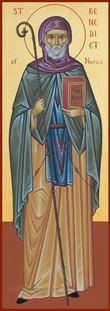 St. Benedict of Nursia-1