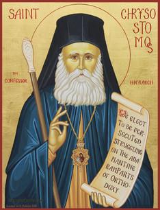 St. Chrysostomos the New