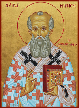 St Niphon of Constantinople