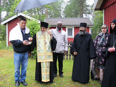 Blessing of the Foundation and Final Formalities