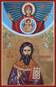St. Raphael the newly-revealed Martyr