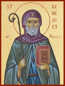 Helige Benedikt av Nursia-2
