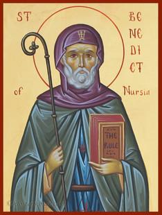 St. Benedict of Nursia-2