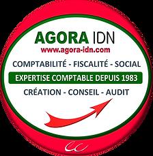 Logo rond Agora IDN@expert-comptable_202