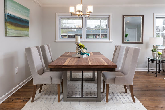 Dining Room - Vacant Staging