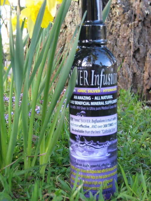16 oz bottle - Sliver Infusion