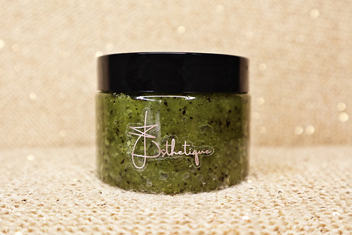 EH Esthetique GLOW Body Scrub, Matcha
